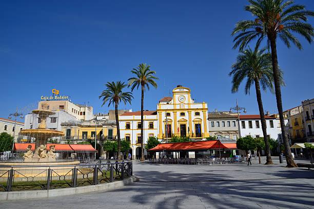 city Hall y plaza principal de la ciudad de Mérida. - foto de stock