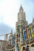 istock City hall at the Marienplatz in Munich, Germany 1238296809