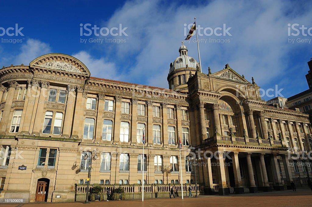 City Hall, Birmingham royalty-free stock photo