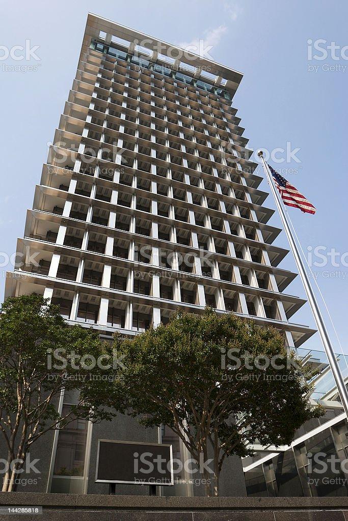 City Hall - Blank Address stock photo