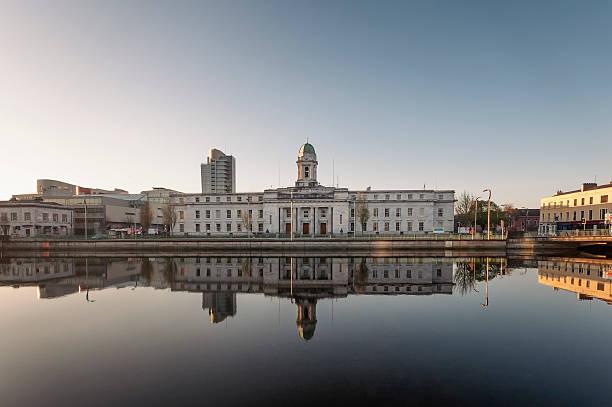 City Hall, Cork, Ireland stock photo