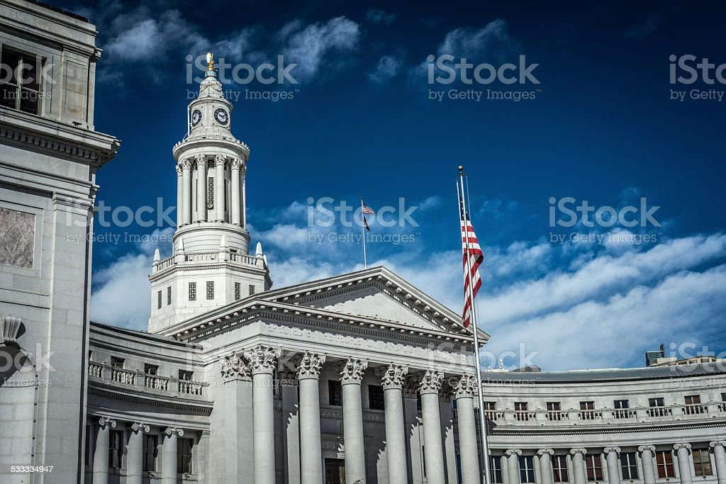 City Hall, Denver stock photo