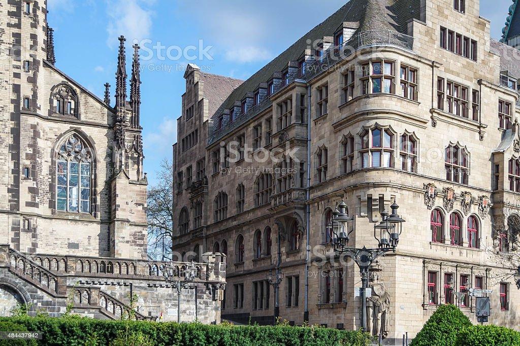 City hall - Duisburg - Germany stock photo