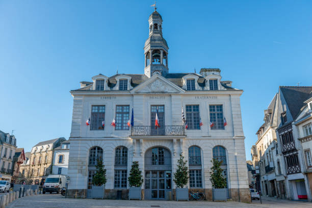 Hôtel de ville à Auray, Bretagne, France - Photo