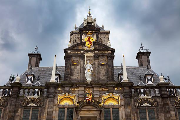 City Hall in Delft – Foto