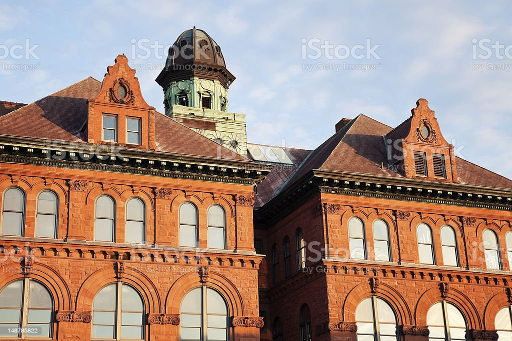 City Hall in Peoria, Illinois stock photo
