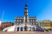 City Hall in Zamosc, Poland