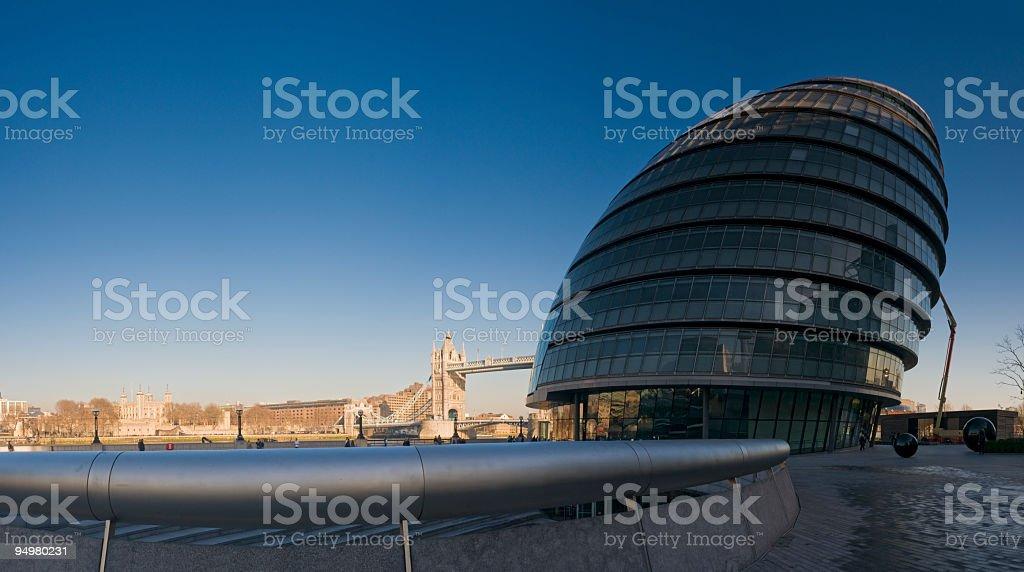 City Hall London royalty-free stock photo