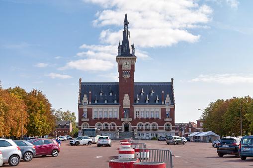 City Hall Of Albert Stock Photo - Download Image Now