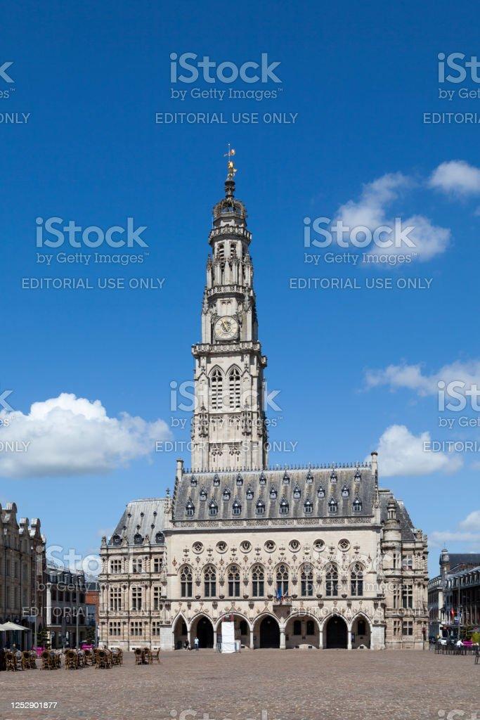 City hall of Arras - Royalty-free 16th Century Stock Photo