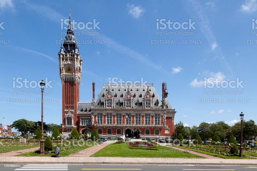City hall of Calais - Royalty-free Architecture Stock Photo