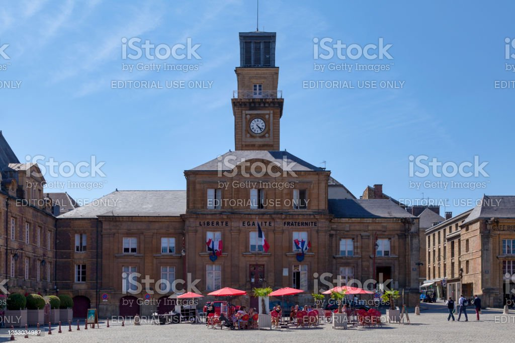 City hall of Charleville in Charleville-Mézières - Royalty-free Architecture Stock Photo