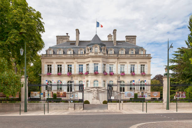 City hall of Epernay stock photo