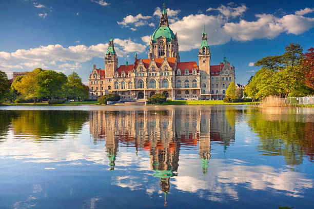 City Hall of Hannover.