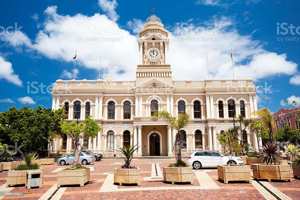 city hall of Port Elizabeth stock photo