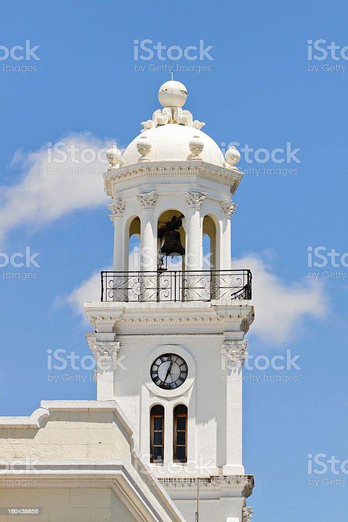 City hall of Santo Domingo royalty-free stock photo
