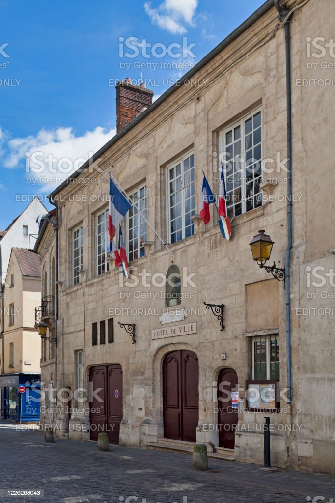 City hall of Senlis - Royalty-free Architecture Stock Photo