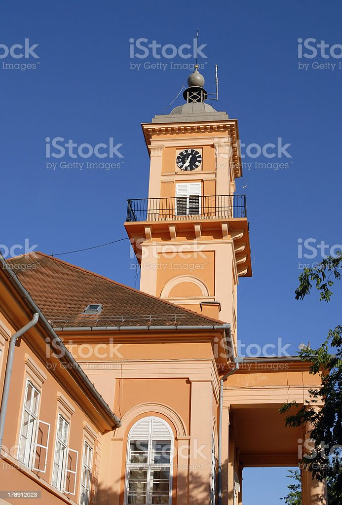 City Hall of Sombor royalty-free stock photo
