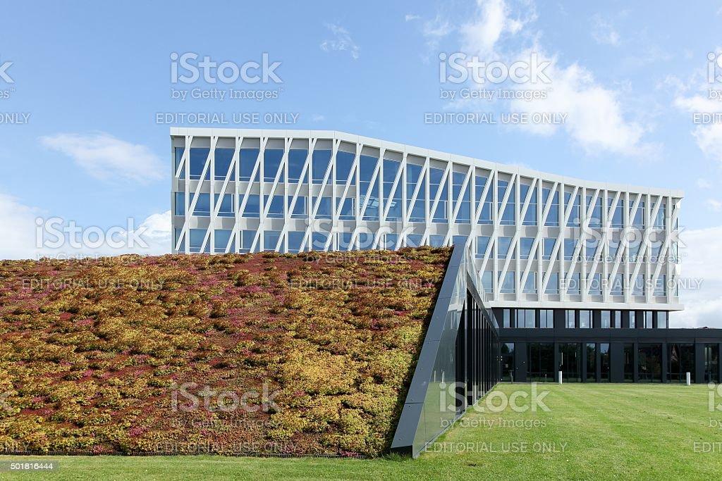 City hall of Viborg in Denmark stock photo
