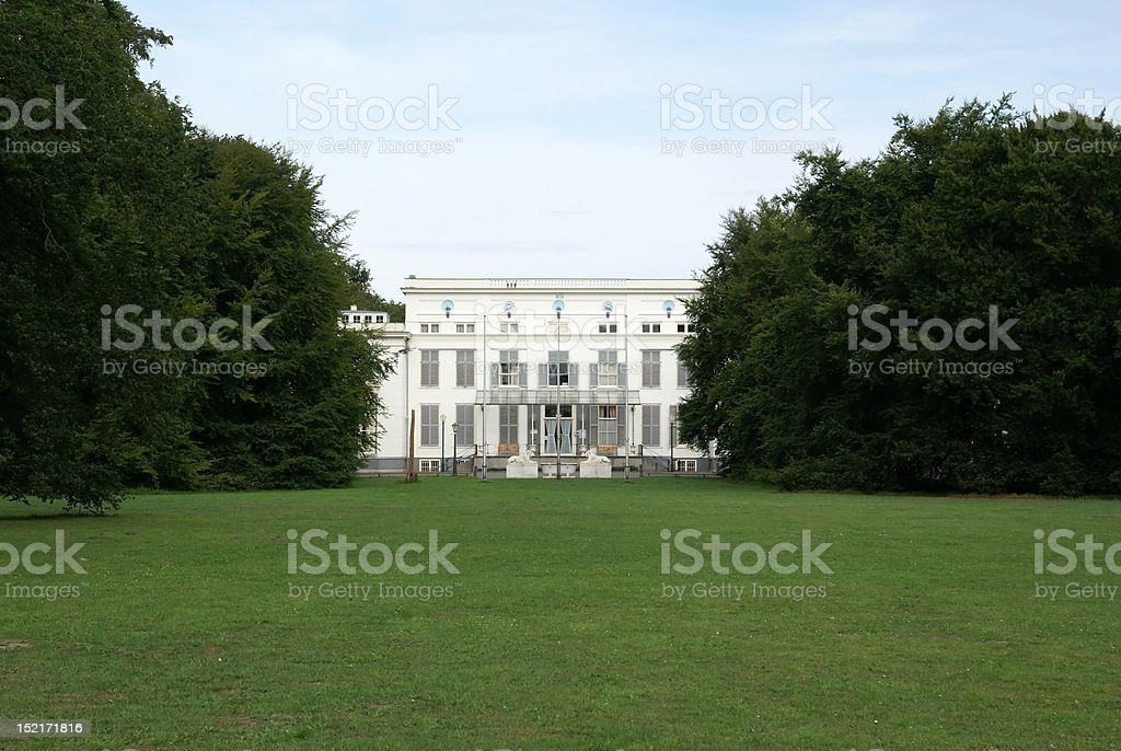 city hall of Wassenaar, The Netherlands royalty-free stock photo
