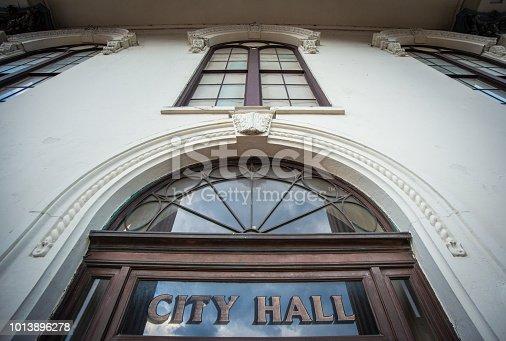 City Hall, in Wilmington, NC, USA.