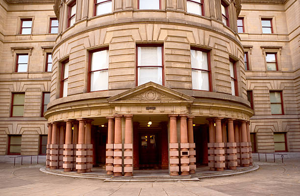 City Hall Portland's City Hall. town hall stock pictures, royalty-free photos & images