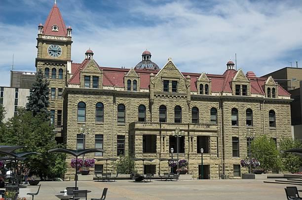 city hall - foto stock