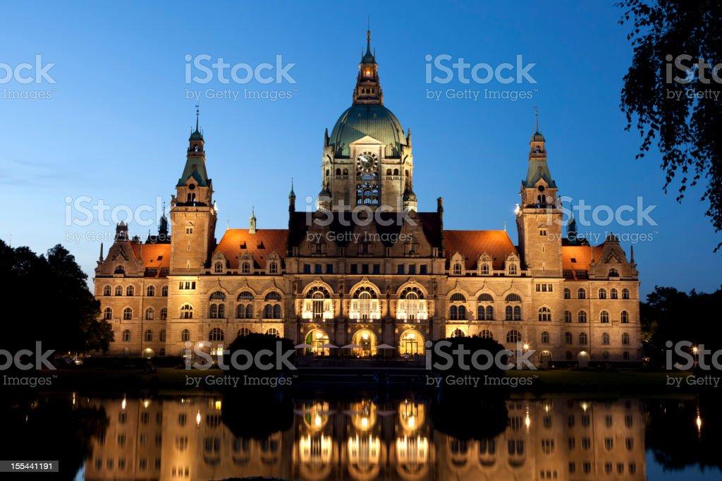 City Hall (Neue Rathaus) stock photo