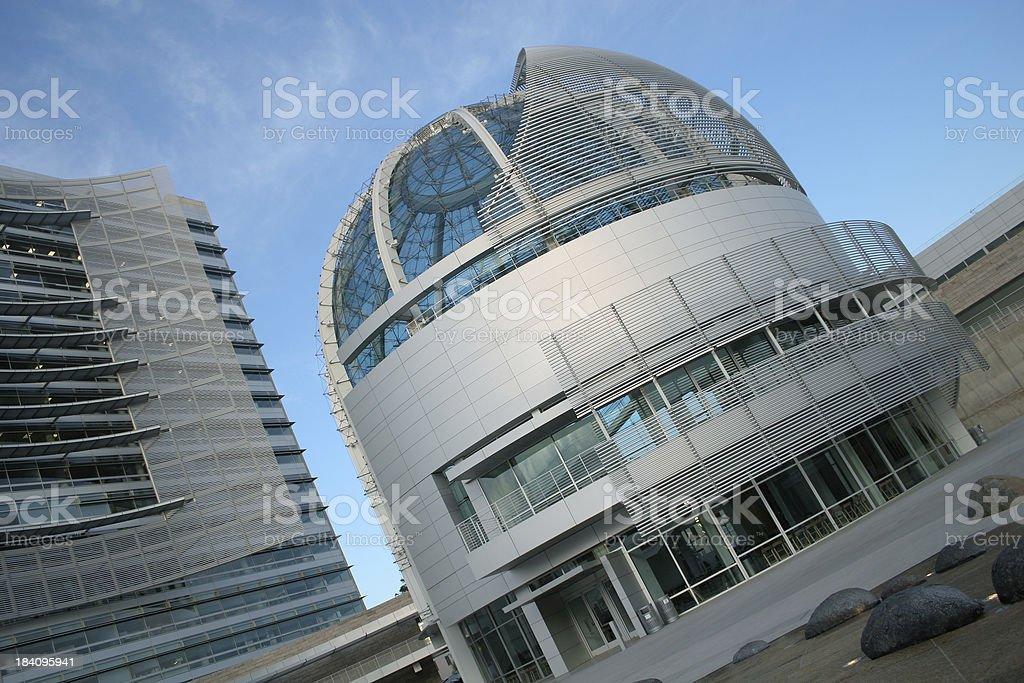 City Hall San Jose royalty-free stock photo
