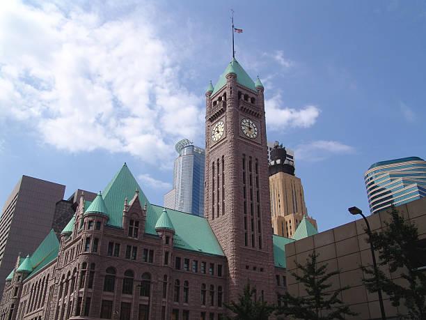 City Hall Skyline stock photo