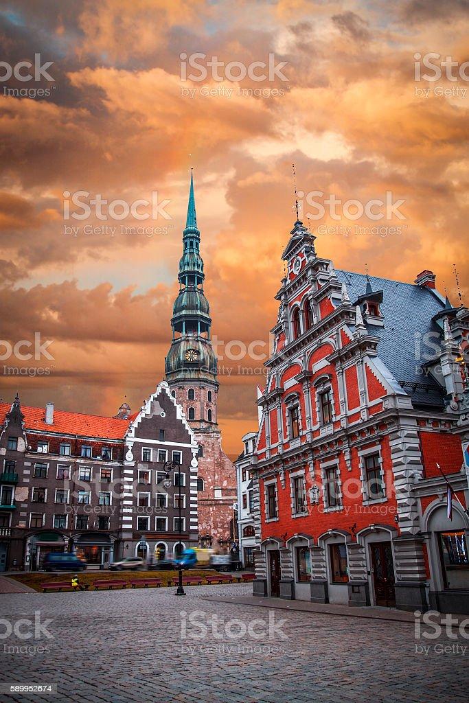 City Hall Square royalty-free stock photo