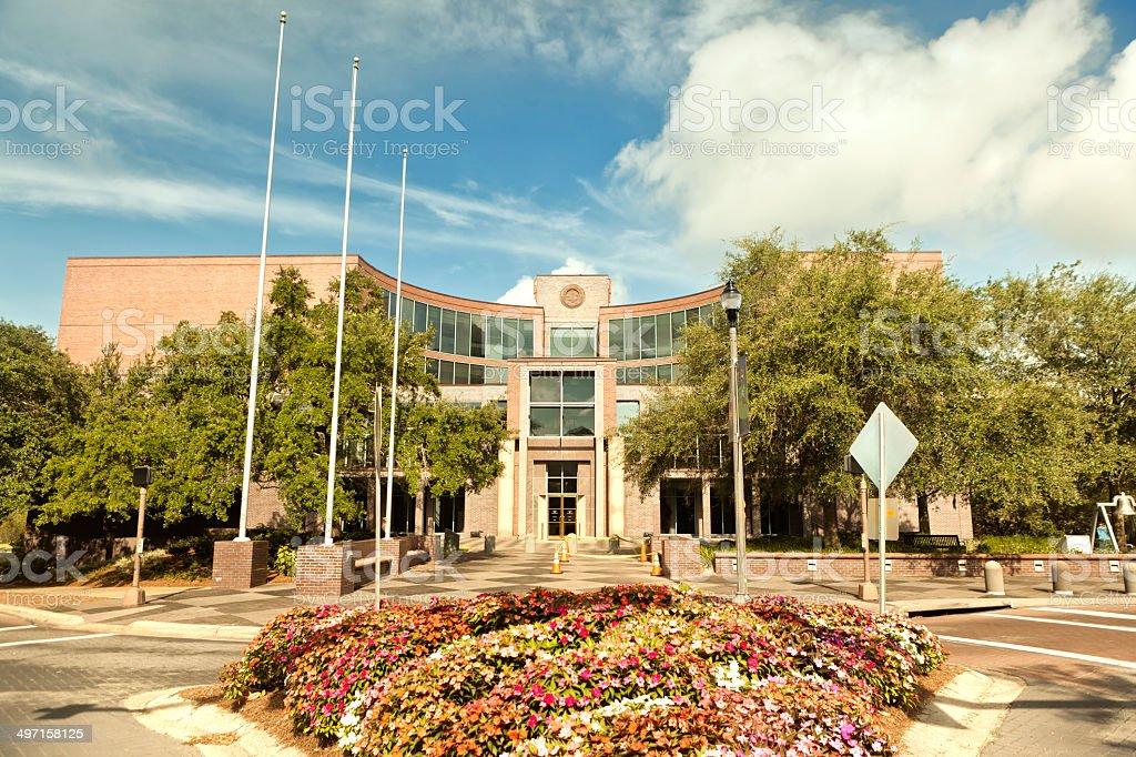 City Hall Tallahassee FL stock photo