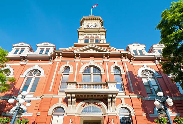 Hôtel de ville de Victoria, en Colombie-Britannique. - Photo