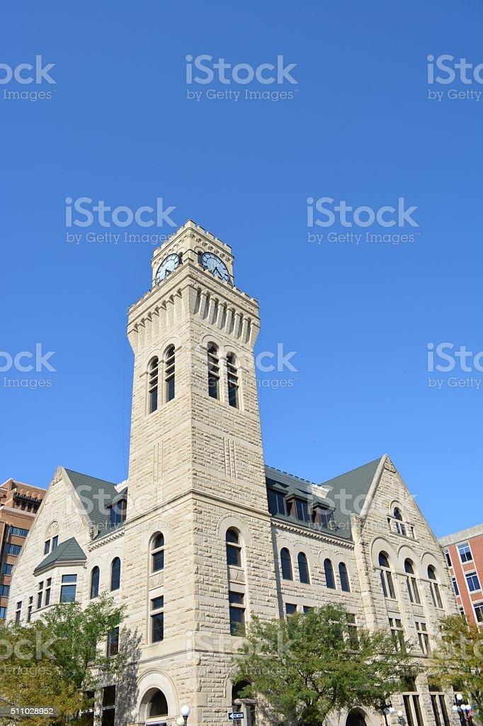 City Hall-Sioux City, Iowa stock photo