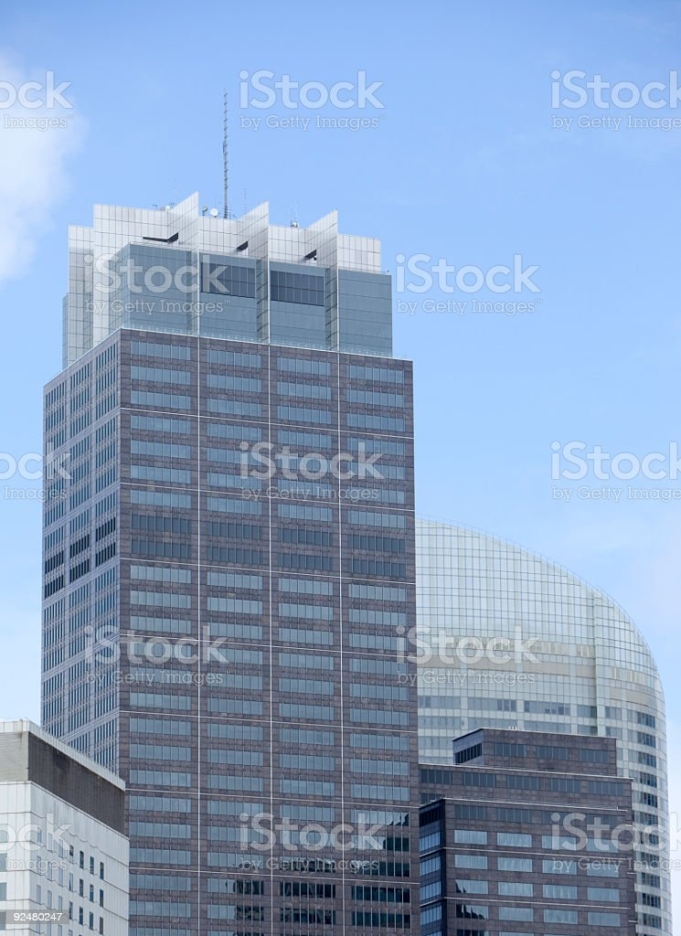 City high rise buildings royalty-free stock photo