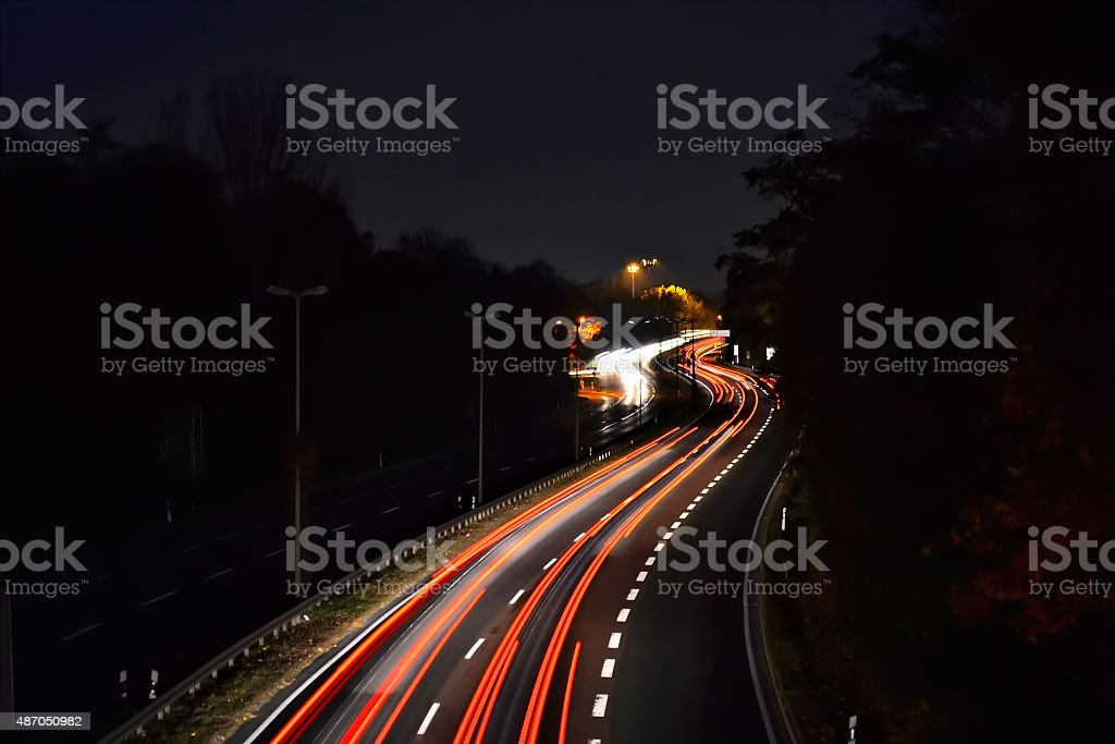 City highway stock photo