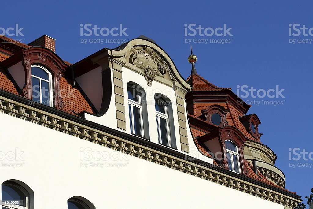 Stadt Haus royalty-free stock photo
