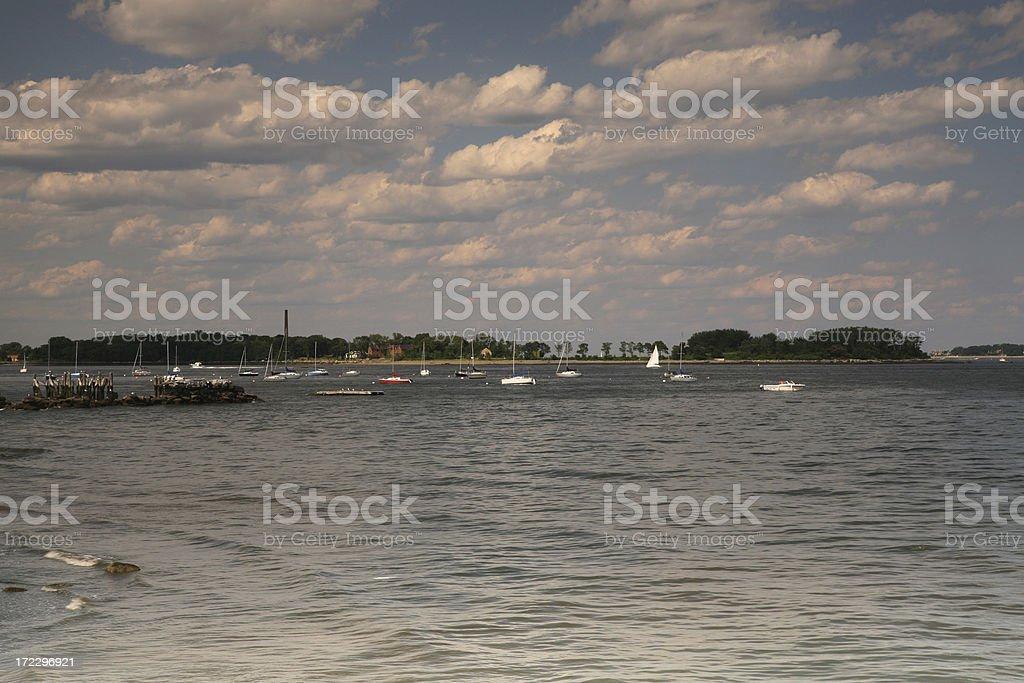 City Island royalty-free stock photo