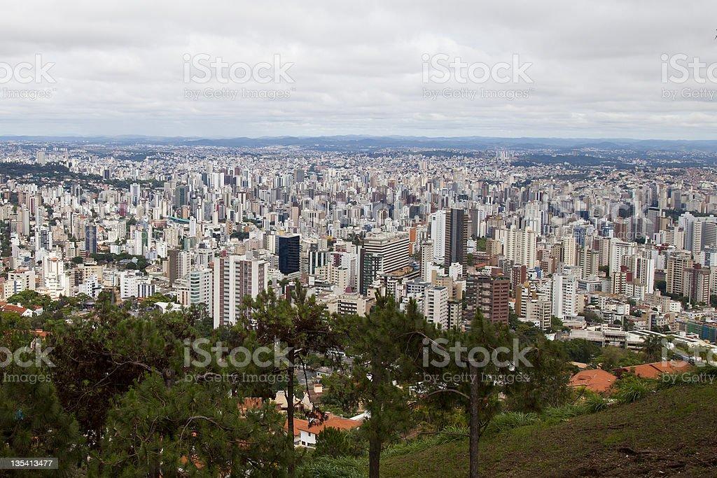 City landscape. Belo Horizonte, Brazil. stock photo