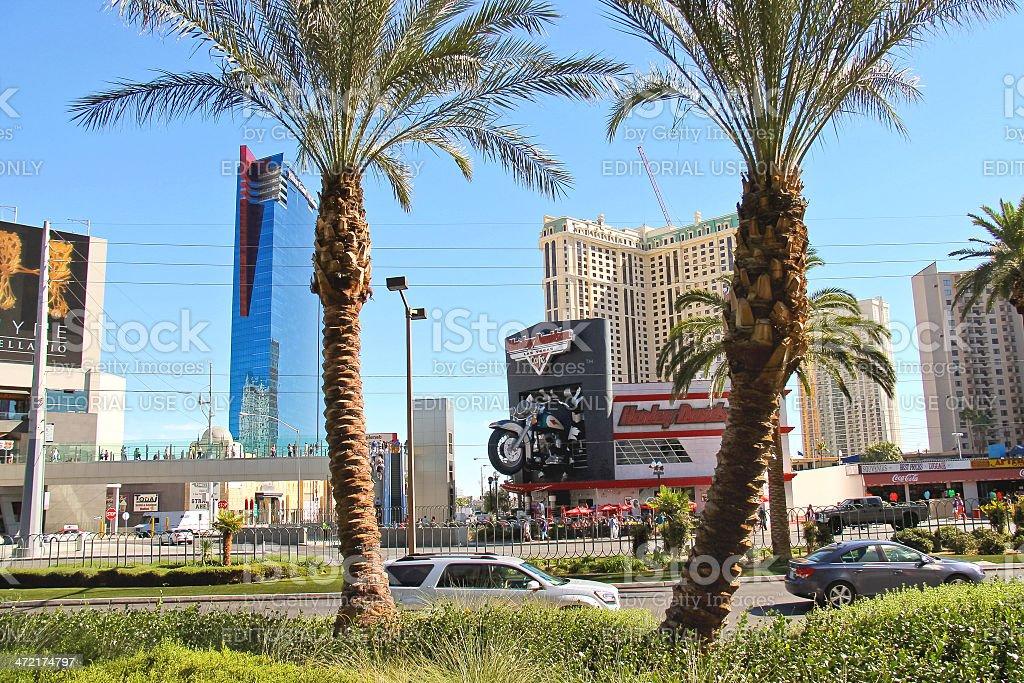 City landscape in Las Vegas, Nevada stock photo