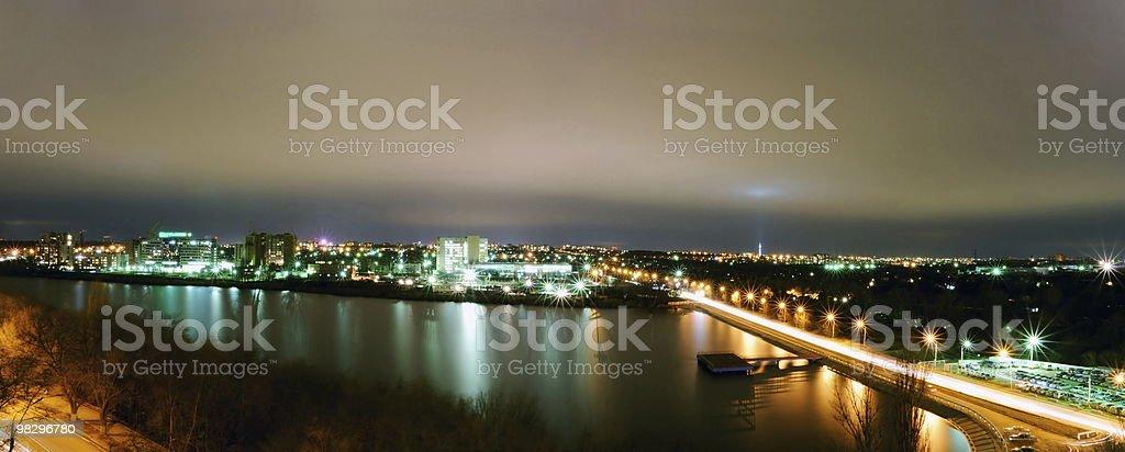 Paesaggio di città foto stock royalty-free