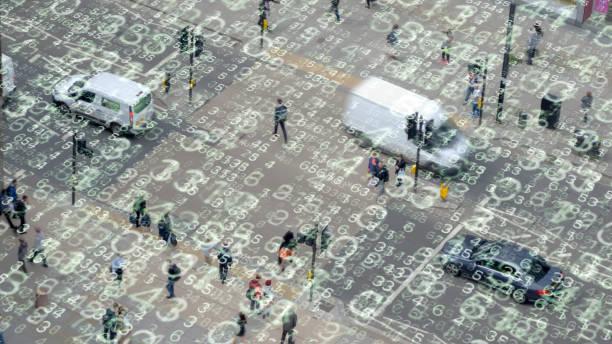 Stadtleben und Zahlen. – Foto