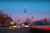 istock city lights at blue hour in Berlin 1192913611