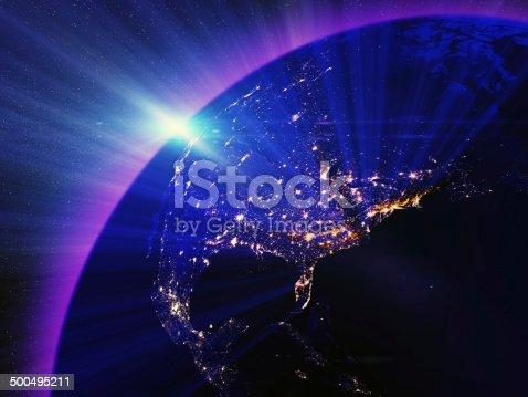 499002117istockphoto USA city lights at night 500495211