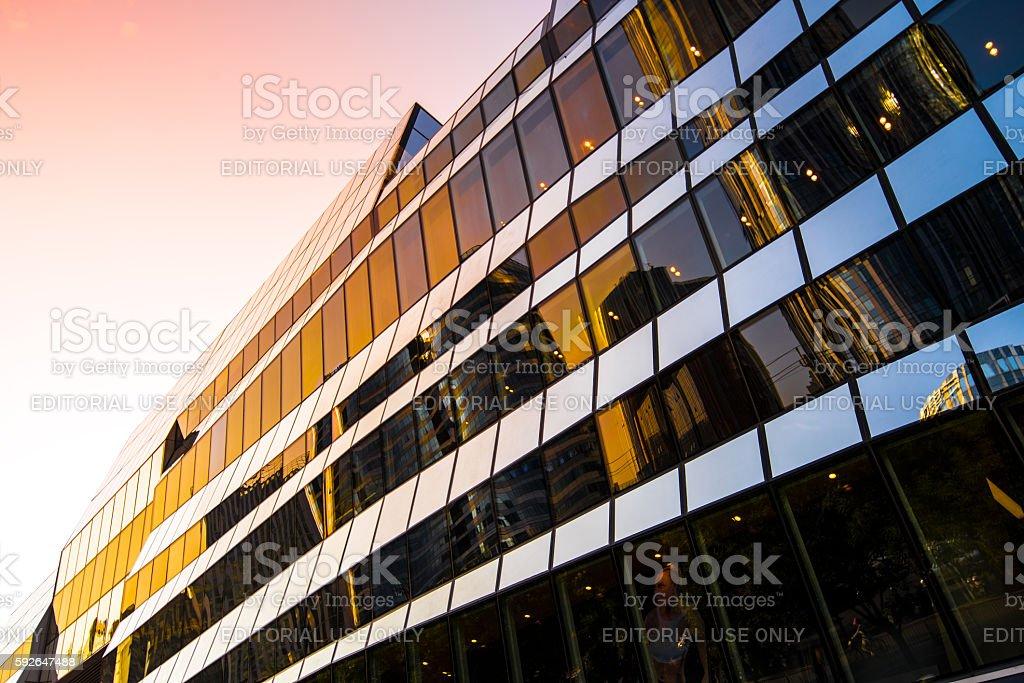 City Mall stock photo