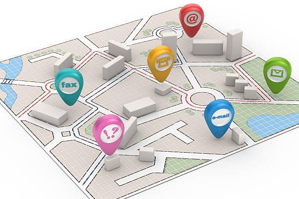Carte de la ville-Contactez-nous ! - Photo