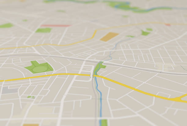 city map city map global positioning system stock pictures, royalty-free photos & images