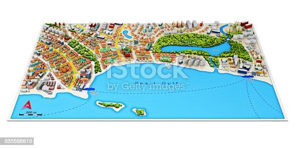 835195838istockphoto 3D city map 535568615