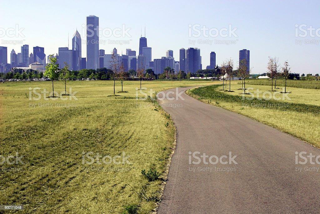 City Meets Nature stock photo