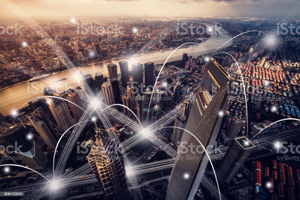 rede cidade - foto de acervo